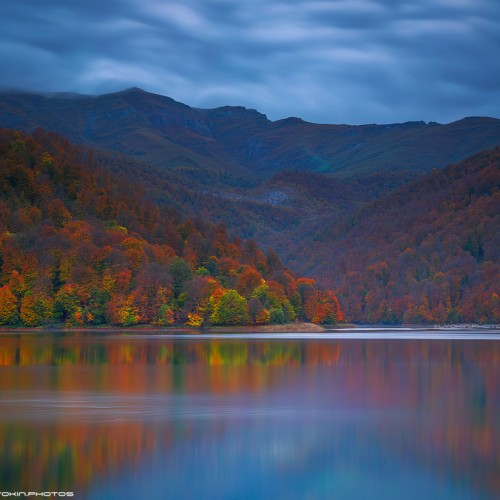 Autumn at Lake Goygol 2015